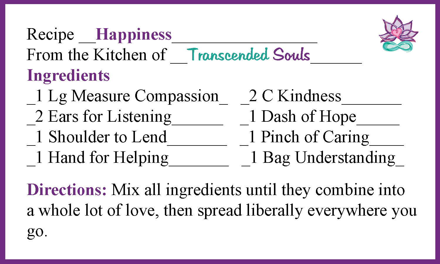 happiness-recipe-card