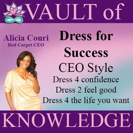 """Alicia Couri Dress for Success CEO Style"""