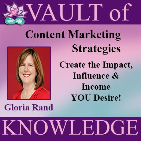 """Gloria Rand Content Marketing Strategies"""