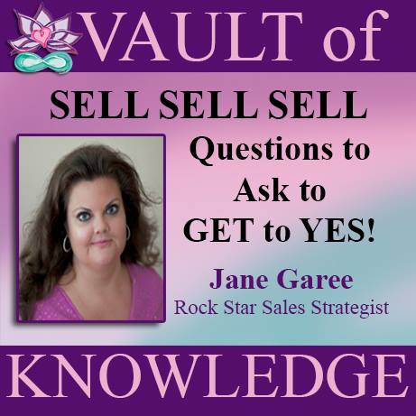 """Jane Garee Sell Sell Sell"""